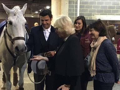 Visita Princesa + Manuel Veiga
